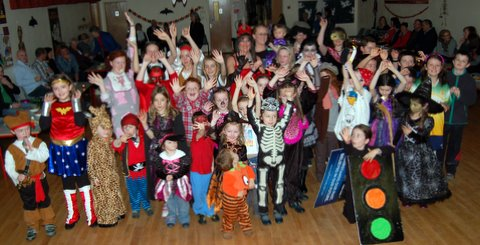 Children's Halloween Party at the Bluestack Centre