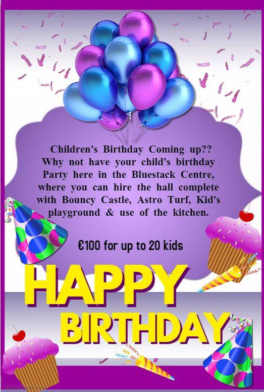 Childrens' Birthday Party Venue Donegal